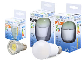 VIRIBRIGHT LED Light Samples